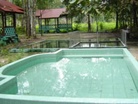 Wisata Alam Pemandian Air Panas Dabo Singkep